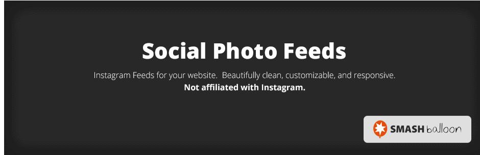 Social Photo Feeds Logo