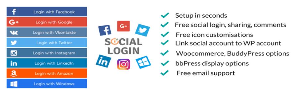 Social Login Logo